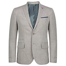 Buy Ted Baker Niteyes Herringbone Linen Blend Jacket Online at johnlewis.com