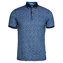 Buy Ted Baker T for Tall Wilburg Printed Floral Polo Shirt Online at johnlewis.com