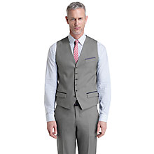 Buy Ted Baker T for Tall Lubwai Textured Waistcoat, Grey Online at johnlewis.com