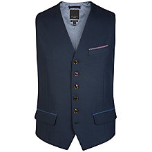 Buy Ted Baker T for Tall Lubwai Textured Waistcoat, Navy Online at johnlewis.com