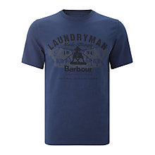 Buy Barbour Laundryman Plough T-Shirt Online at johnlewis.com