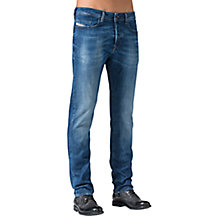Buy Diesel Buster 836X Tapered Jeans, Denim Blue Online at johnlewis.com