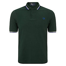 Buy Fred Perry Twin Tipped Polo Shirt Online at johnlewis.com