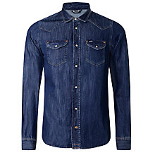 Buy Diesel Sonora Denim Shirt, Denim Blue Online at johnlewis.com