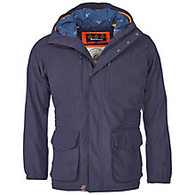 Buy Barbour Morley Jacket, Navy Online at johnlewis.com