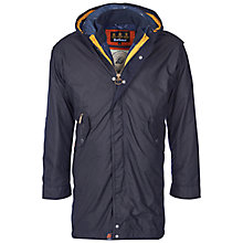 Buy Barbour Kellen Waxed Jacket, Navy Online at johnlewis.com