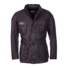 Buy Barbour Sprint Jacket, Red/Black Online at johnlewis.com