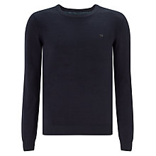 Buy Diesel Maniky Crew Cotton Mix Jumper, Blue Online at johnlewis.com