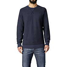 Buy Diesel P-Lisse Sweatshirt, Navy Online at johnlewis.com