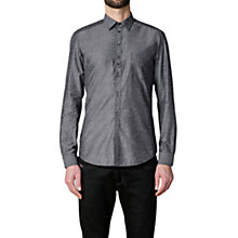 Buy Diesel S-Nami Long Sleeve Shirt, Charcoal Online at johnlewis.com