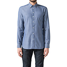 Buy Diesel S-Achai Long Sleeved Shirt, Blue Online at johnlewis.com