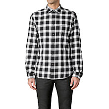 Buy Diesel S-Anobu Check Shirt, Black/White Online at johnlewis.com