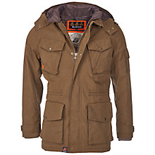 Buy Barbour Hemble Jacket, Dark Sand Online at johnlewis.com