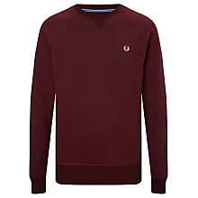 Buy Fred Perry Loop Back Sweatshirt Online at johnlewis.com