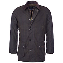 Buy Barbour Hemming Wax Jacket, Olive Online at johnlewis.com