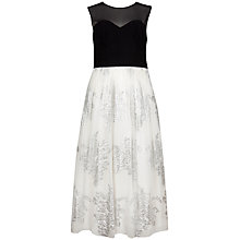 Buy Ted Baker Bodice Ballerina Dress, Black Online at johnlewis.com