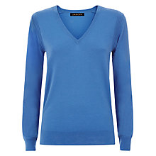 Buy Jaeger Gostwyck V Neck Jumper, Regatta Online at johnlewis.com