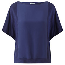 Buy Jigsaw Silk Linen Mix Top Online at johnlewis.com