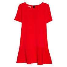Buy Mango Fluted Hem Dress Online at johnlewis.com