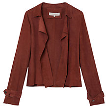 Buy Gerard Darel Acerola Jacket, Terracotta Online at johnlewis.com