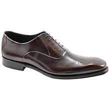 Buy Loake Howard Leather Brogue Oxford Shoes, Brown Online at johnlewis.com