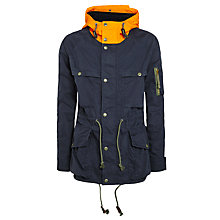 Buy Denim & Supply Ralph Lauren Contrast Hood Nautical Jacket, Navy Online at johnlewis.com