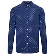 Buy Fred Perry Tipped Dobby Shirt Online at johnlewis.com