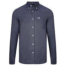 Buy Fred Perry Oxford Long Sleeve Solid Shirt Online at johnlewis.com