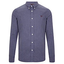 Buy Fred Perry Micro Marl  Gingham Shirt Online at johnlewis.com