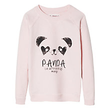 Buy Mango Kids Panda Print Sweatshirt Online at johnlewis.com