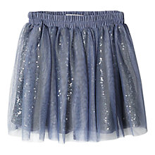 Buy Mango Kids Girls' Tulle Skirt, Purple Online at johnlewis.com