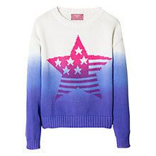 Buy Mango Kids Girls' Ombre Sweatshirt, Multi Online at johnlewis.com