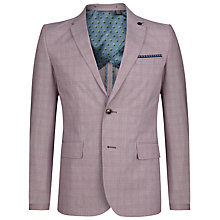 Buy Ted Baker Reegal Checked Cotton Blazer Online at johnlewis.com