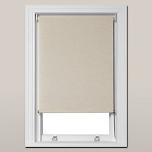 Buy John Lewis Croft Collection Broadford Roller Blind, Stone Online at johnlewis.com