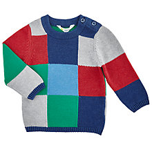 Buy John Lewis Baby's Patchwork Jumper, Multi Online at johnlewis.com