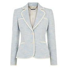 Buy Hobbs Margo Jacket, Blue Online at johnlewis.com