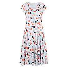 Buy Hobbs Rhiannon Dress, Blue Online at johnlewis.com