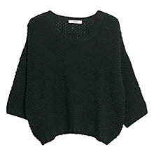 Buy Mango Chunky Knit Cotton-Blend Jumper Online at johnlewis.com