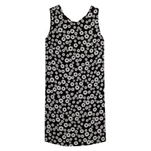 Buy Mango Floral Printed Dress, Black Online at johnlewis.com