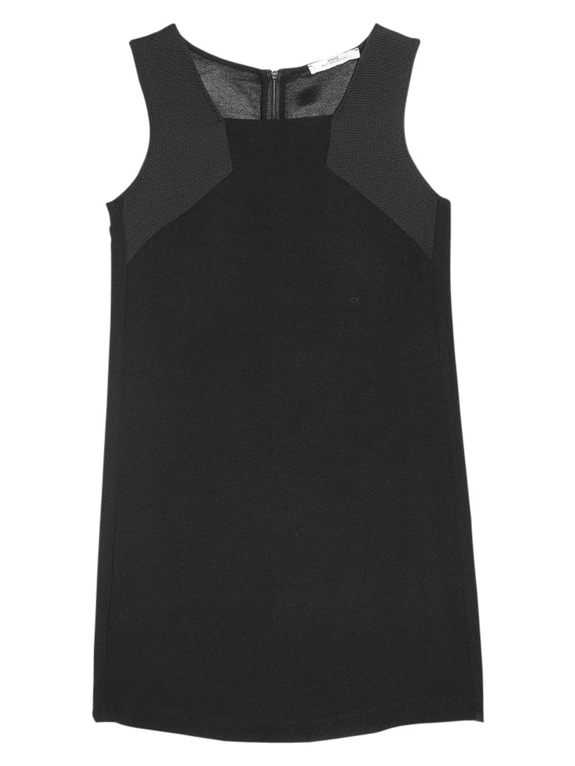 mango panel shift dress black, mango, panel, shift, dress, black, 6|10|8|12|14, women, womens dresses, 1937704
