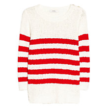 Buy Mango Striped Cotton Jumper Online at johnlewis.com