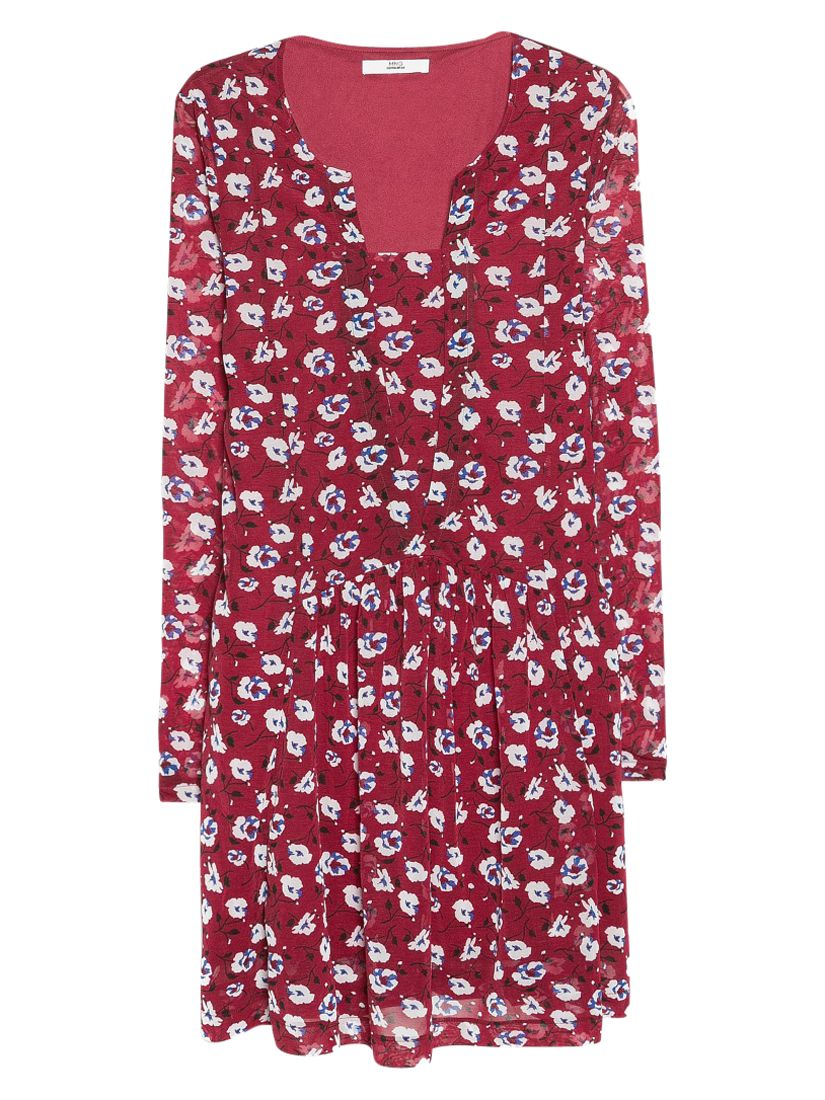 mango flower print dress dark red, mango, flower, print, dress, dark, red, 12|6|8|10, women, womens dresses, 1933618