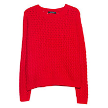 Buy Mango Textured Jumper Online at johnlewis.com