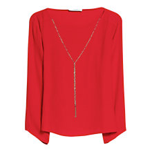Buy Mango Pendant Flowy Blouse Online at johnlewis.com