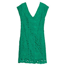 Buy Mango Lace Shift Dress Online at johnlewis.com