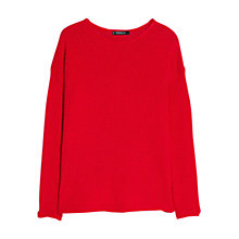 Buy Mango Textured Cotton Jumper Online at johnlewis.com