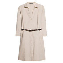 Buy Mango Belted Shirt Dress Online at johnlewis.com