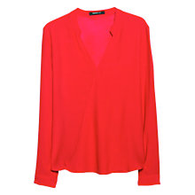 Buy Mango Wrap V-Neck Blouse Online at johnlewis.com