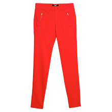 Buy Mango Zip Cotton Trousers Online at johnlewis.com