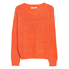 Buy Mango Openwork Jumper Online at johnlewis.com